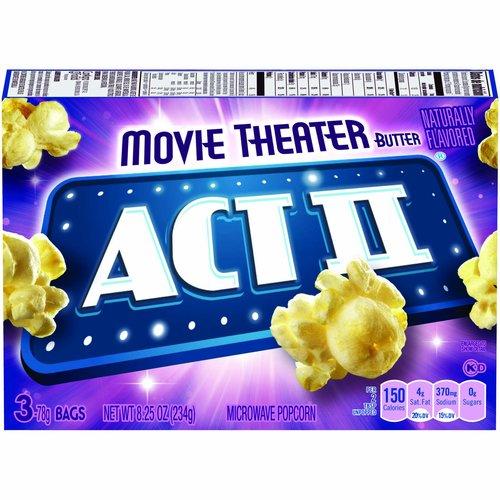 <ul> <li>The Best Value in Popcorn!</li> <li>0 g Trans Fat per serving</li> <li>100% Whole Grain Popcorn</li> <li>Naturally flavored microwave popcorn</li> </ul>