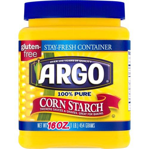<ul> <li>100% Pure Corn Starch</li> <li>Stay-fresh, Recyclable container</li> <li>Thickens Sauces & Gravies</li> <li>Great for Baking</li> </ul>