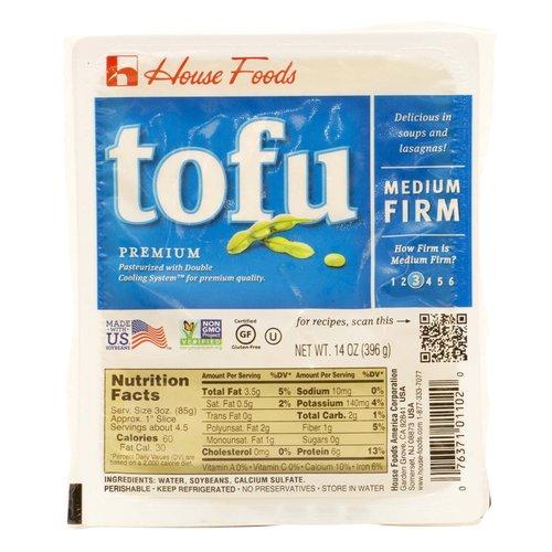 <ul> <li>Premium Soft Tofu.</li> <li>Pasteurized with Double Cooling System for Premium quality.</li> <li>Made with US Soybean.</li> <li>Non GMO verified.</li> <li>Certified Gluten Free.</li> <li>How firm is Soft? 3.</li> <li>Delicious in Salads, dressings, and smoothies.</li> <li>Perishable, Keep Refrigerated.</li> <li>No Preservatives.</li> <li>Store in Water</li> <li>Serving size 3 oz.</li> <li>60 Calories per Serving.</li> </ul>