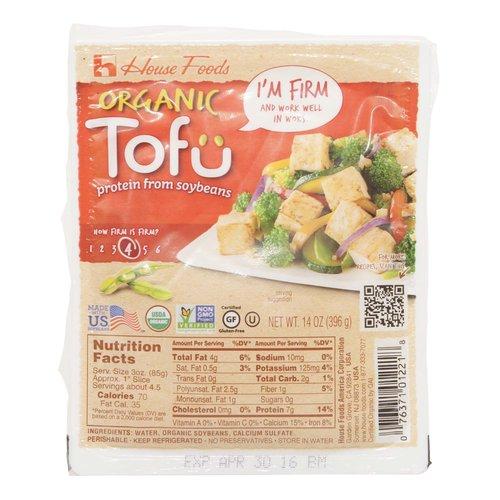<ul> <li>Protein from Soybeans</li> <li>How firm is Firm? 4</li> <li>USDA Organic</li> <li>Non GMO Verified</li> <li>Gluten Free</li> <li>Firm and work well in Woks</li> </ul>
