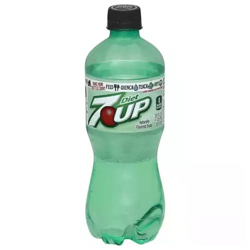 7-Up Diet Soda, 20 Ounce