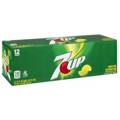 Lemon-lime soda  100% naturally flavored  Caffeine free  Light, crisp taste  One 12-pack of 12 fluid ounce cans