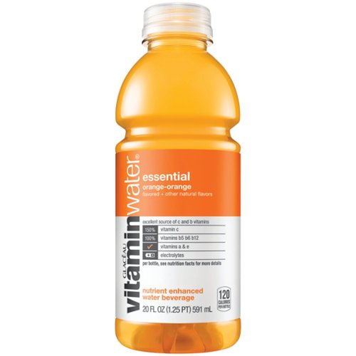 vitaminwater is a great tasting, nutrient enhanced water beverage with electrolytes and vitamins. It provides an excellent source of C and key B vitamins.