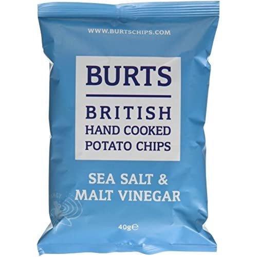 Burts Chips Salt & Vinegar, 40 Gram