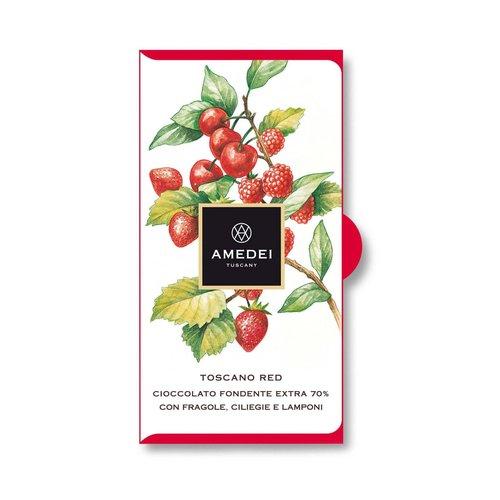 Amedei Toscano Red Chocolate Bar, 50 Gram