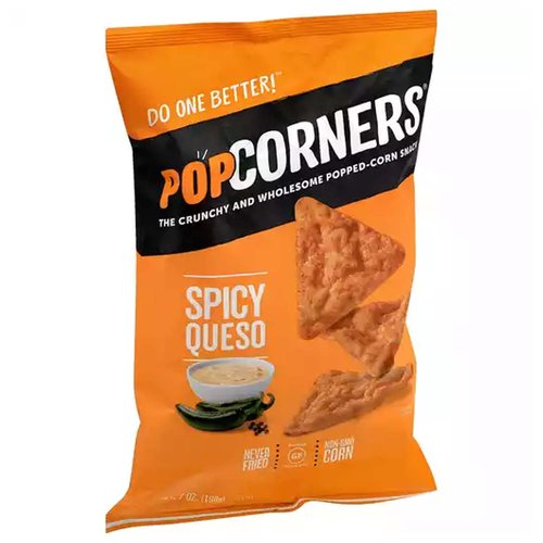 Popcorners Spicy Queso, 7 Ounce
