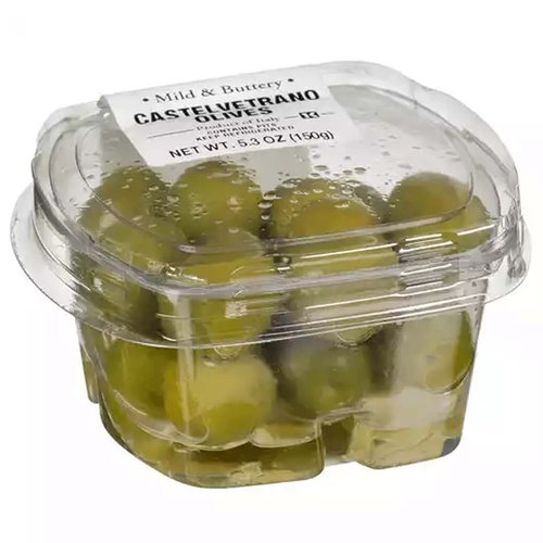 Fresh Pack Olive Castelvetrano, Unpitted, 5.3 Ounce
