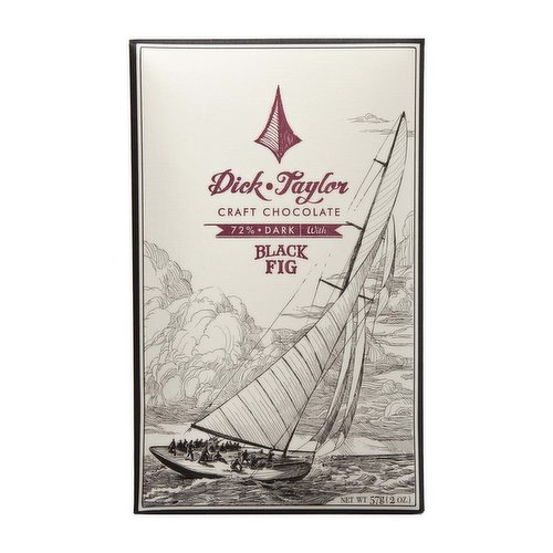 Dick Taylor Craft Chocolate, Black Fig, 2 Ounce