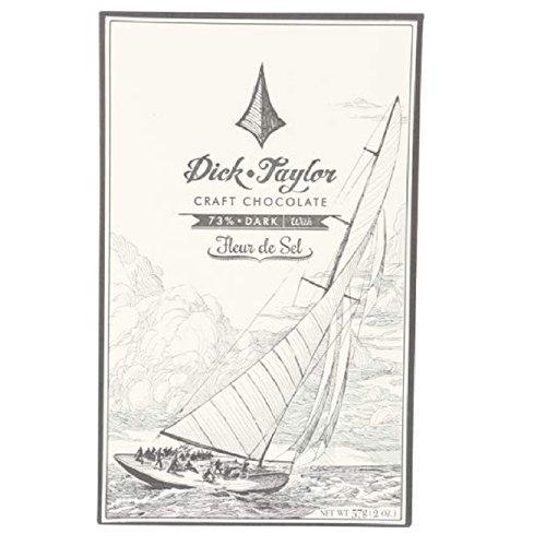 Dick & Taylor Craft Chocolate, Fleur De Sel, 2 Ounce