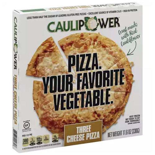 Caulipower Pizza Three Cheese, 11.6 Ounce