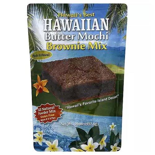 <ul> <li>Made in Hawaii</li> <li>Hawaii's Favorite Island Dessert</li> <li>All Natural Powder Mix</li> <li>Gluten Free</li> </ul>