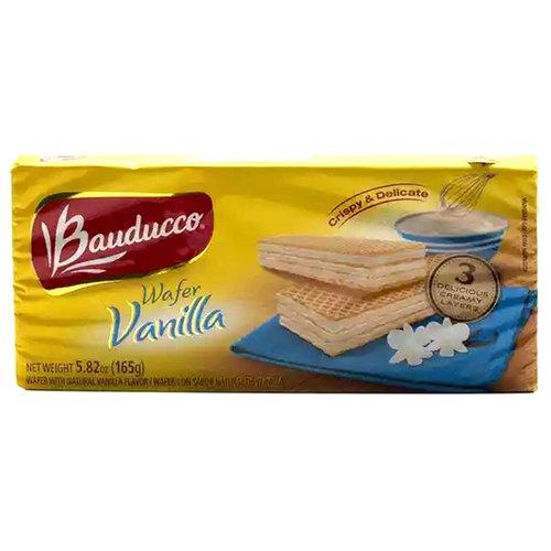 Bauducco Wafer, Vanilla, 5.82 Ounce