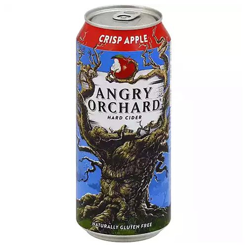 Angry Orchard Hard Cider, Crisp Apple, 16 Ounce