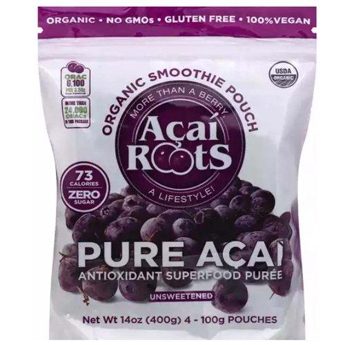 <ul> <li>USDA Organic</li> <li>No GMOs</li> <li>Gluten Free</li> <li>100% Vegan</li> <li>Organic Smoothie Pouch</li> <li>More than Berry</li> <li>73 Calories</li> <li>0g Sugar</li> <li>Antioxidant Superfood Puree</li> </ul>
