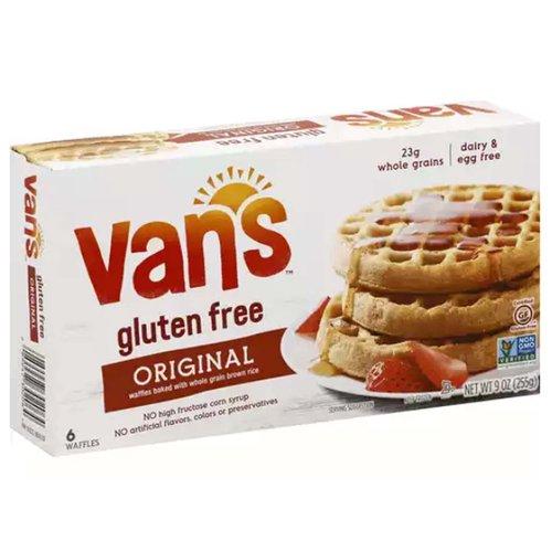 <ul> <li>No High Fructose Corn Syrup</li> <li>No Artificial Flavors, Colors or Preservatives</li> <li>Non GMO Verified</li> <li>Gluten Free</li> <li>Original Waffles baked with whole grain brown rice</li> </ul>