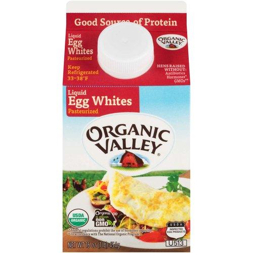 <ul> <li>USDA Organic.</li> <li>Kosher</li> <li>Good source of protein.</li> <li>Pasteurized</li> <li>Hens raised without: Antibiotics Hormones* GMOs** *Federal regulations prohibit the use of hormones in poultry. **In accordance with The National Organic Program.</li> <li>Organic is always non GMO.</li> </ul>