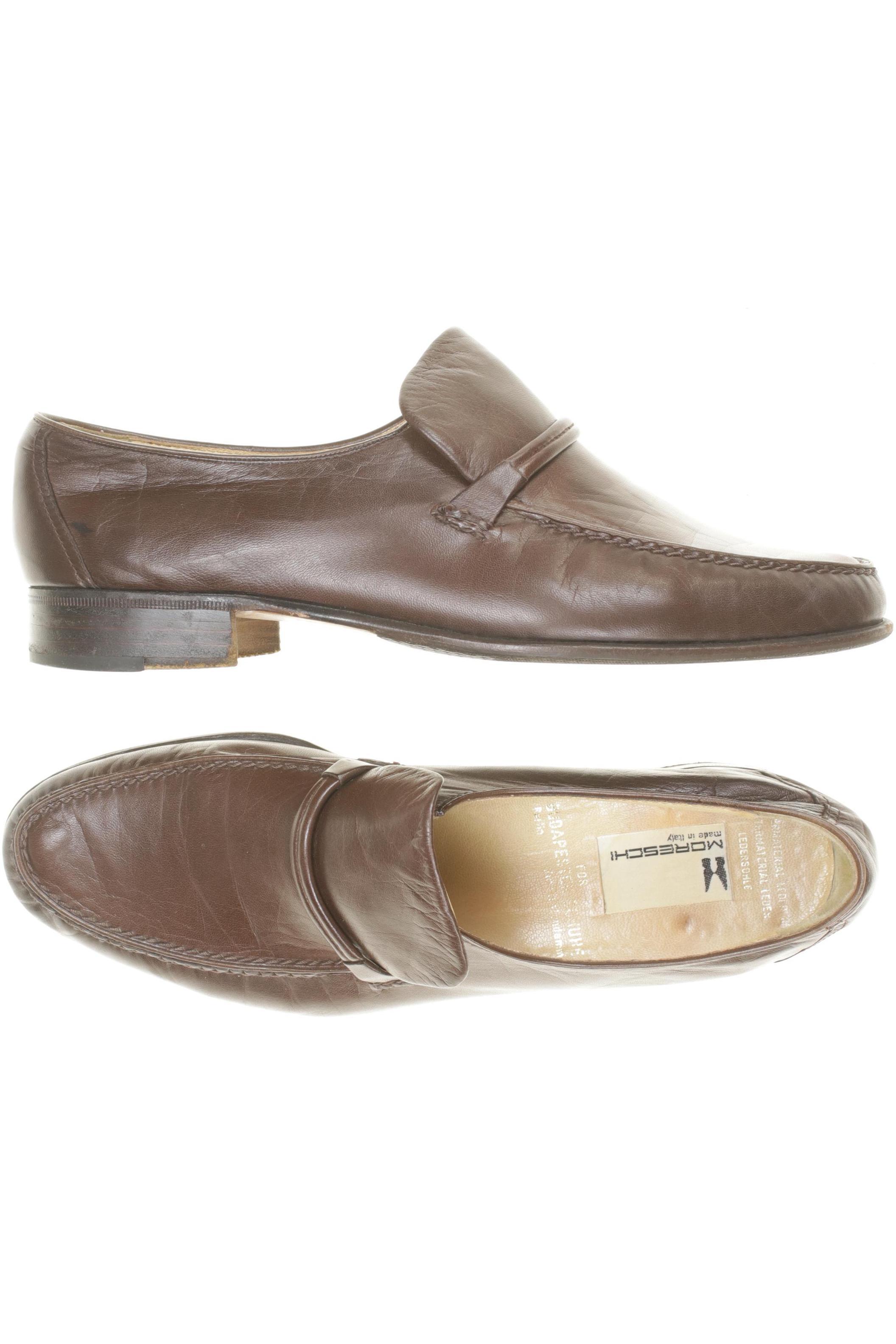 Details zu MORESCHI Halbschuh Herren Slipper feste Schuhe Gr. UK 7.5 (DE 41) Le #856a211