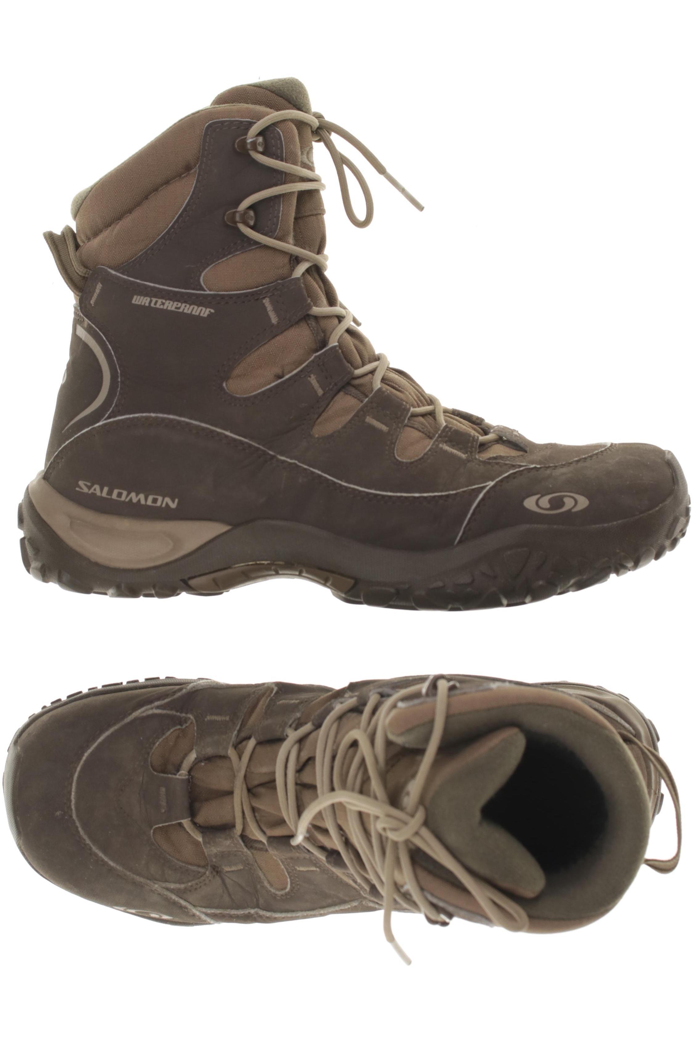 Details zu SALOMON Stiefel Herren Boots Gr. DE 44 kein Etikett braun #fb42afc