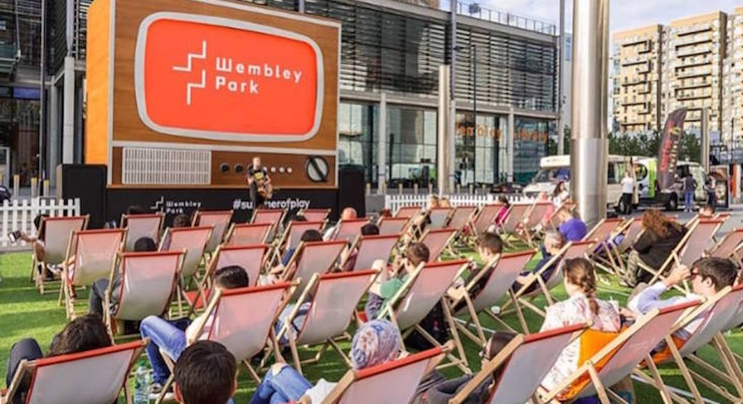 Le Summer on Screen festival a Wembley