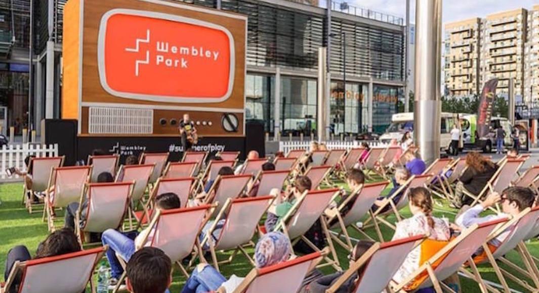 Le Summer on Screen festival a Wembley