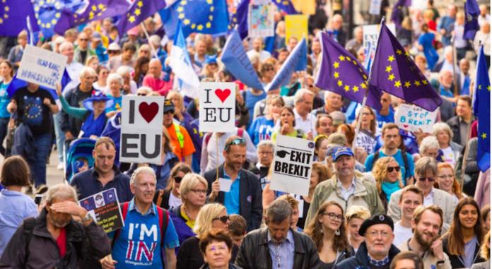 marche vote Brexit