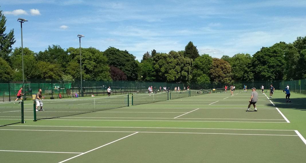 Regent's Park tennis court