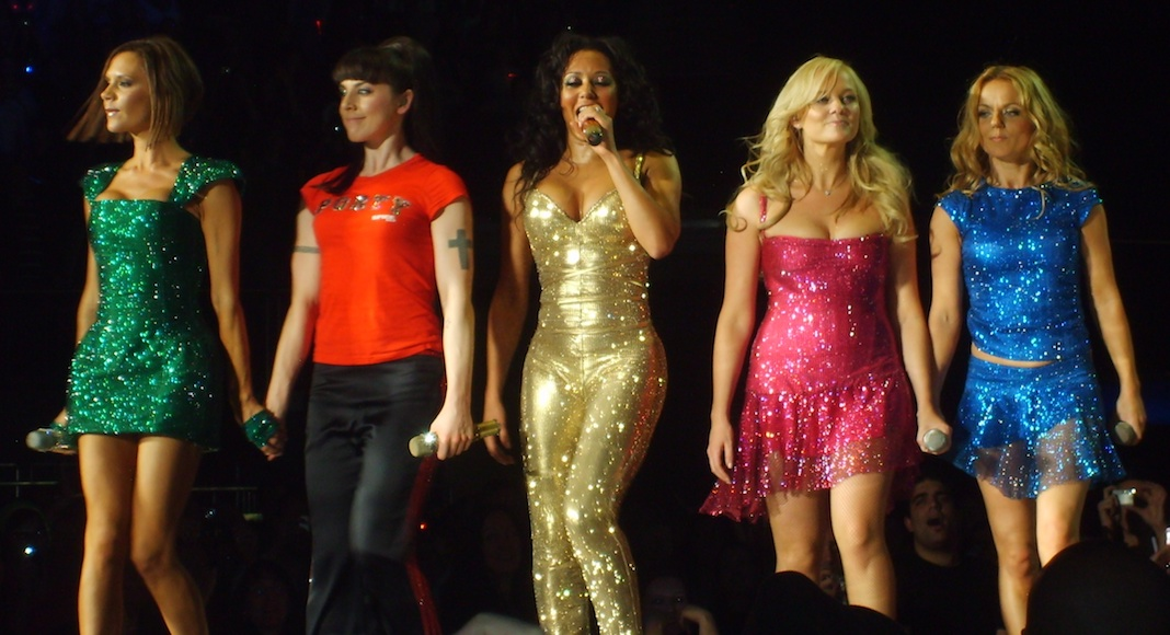 The Spice Girls expositions