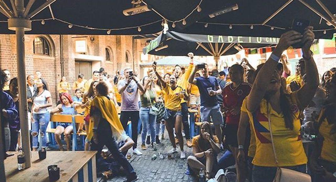 Coupe du monde au Camden Market