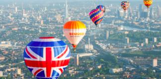 course montgolfières londres