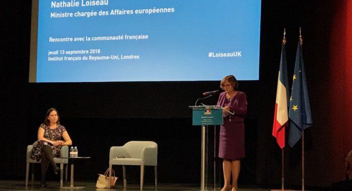 nathalie loiseau affaires europennes communauté française londres