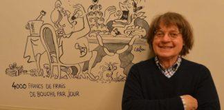 Le dessinateur Cabu