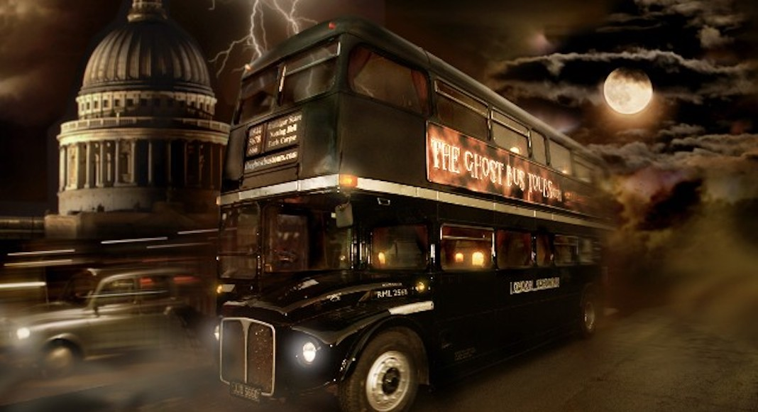 Ghost bus tours, Halloween