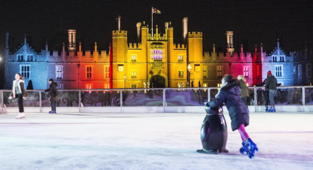 Patinoire d'Hampton Court Palace
