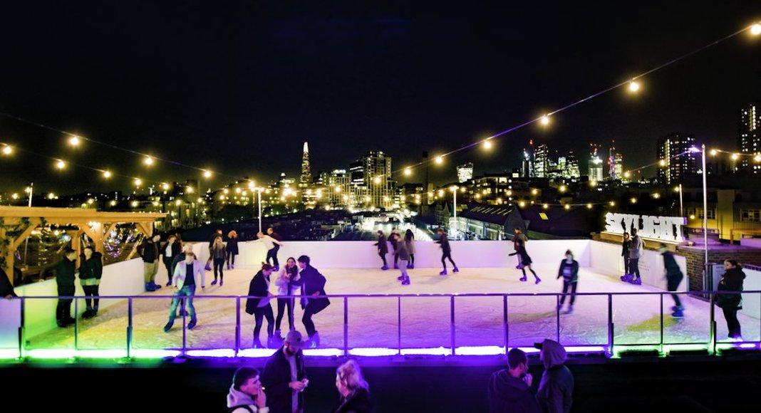 Skylight London, patinoire
