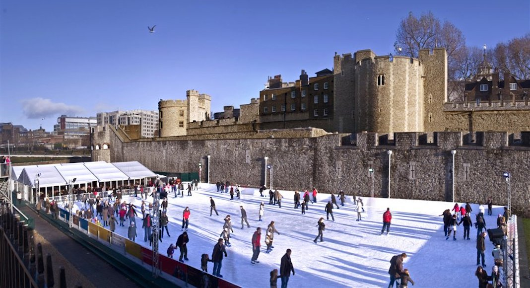 Tower of London patinoire
