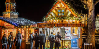 Christmas market Southbank marche noel londres