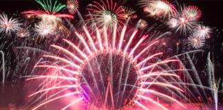 ou voir gratuitement feux artifices londres nouvel an
