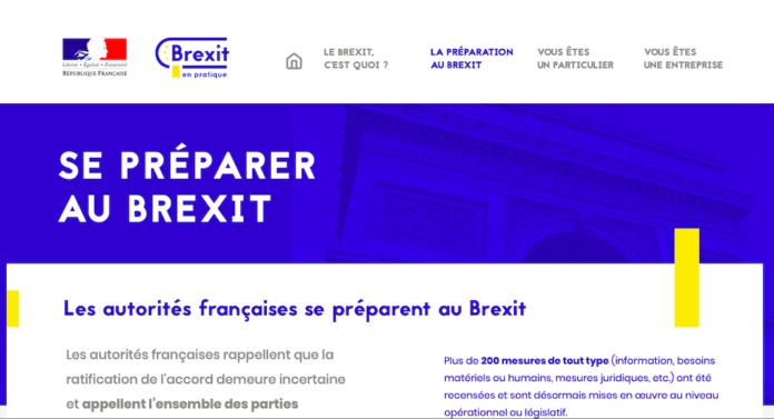 site internet brexit gouvernement francais dedie entreprises particuliers