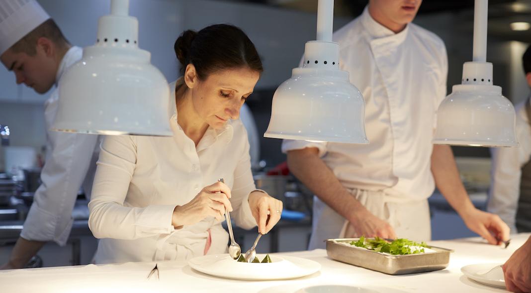 Anne Sophie Pic la dame de pic londres diner journee femmes