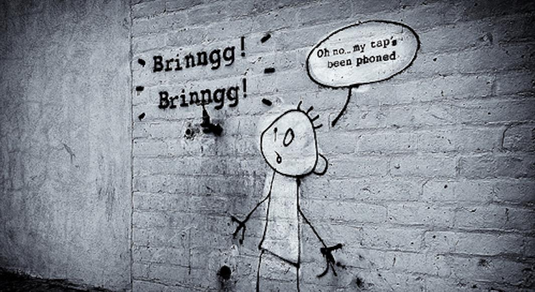 Banksy Phone Tap