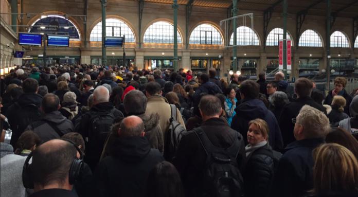 greve douanes francaises eurostar brexit queue