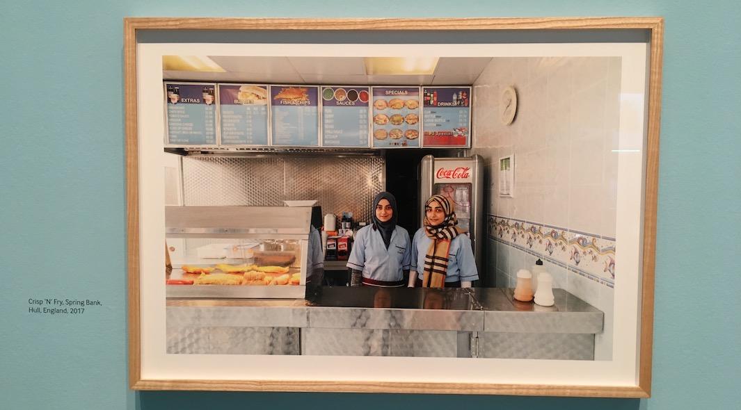 Martin Parr musulmanes Fish-n-Chips