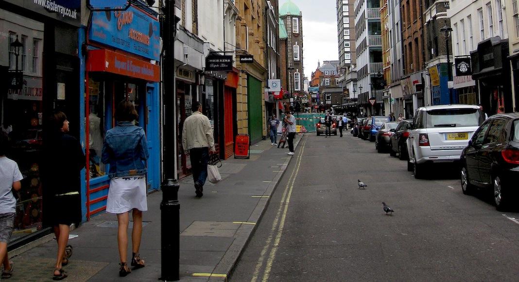 Berwick Street reperes musicaux londres