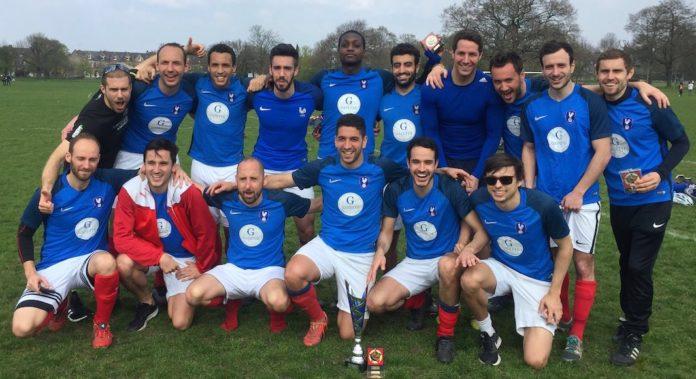 equipe de l'Ambassade victoire Argentine