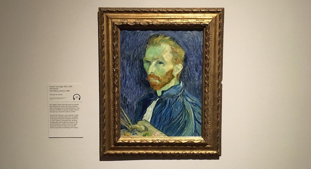 Van Gogh Britain Selfportrait