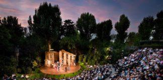 Rouverture du Open Air Theatre a Regents Park