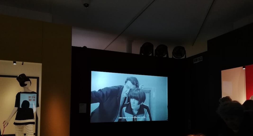 Interview de Mary Quant exposition V&A museum
