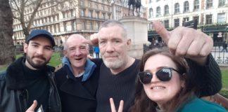 Pierre Lorcy et Estelle Barthes lance Barberground a Londres pour valoriser les sans-abris
