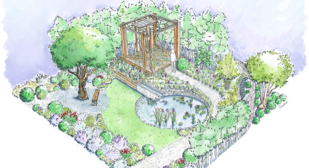 Harmonious Garden of Life Laurelie de la Salle Chelsea Flower Show
