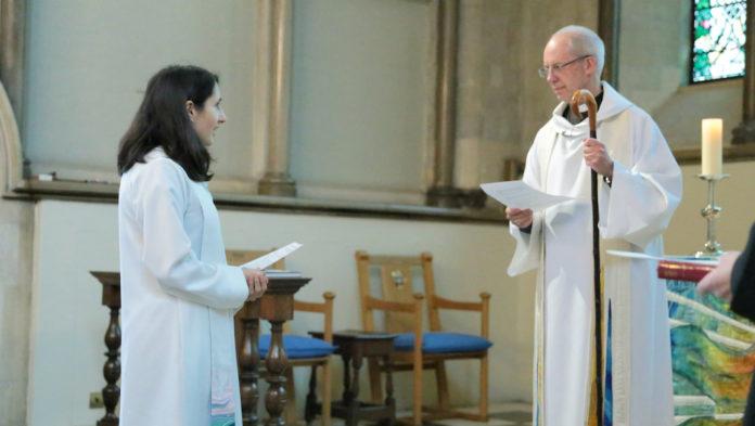 l'archeveque de canterbury isabelle hamley eglise anglicane